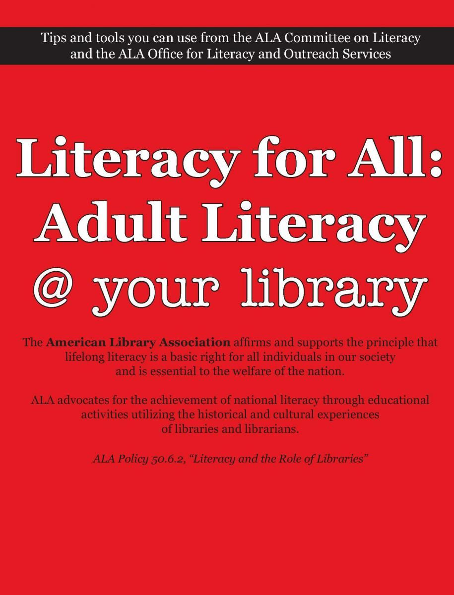 associations litearcy adult and