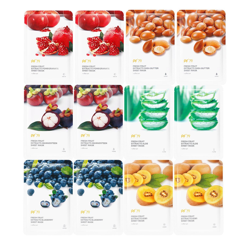 mask fruits facial