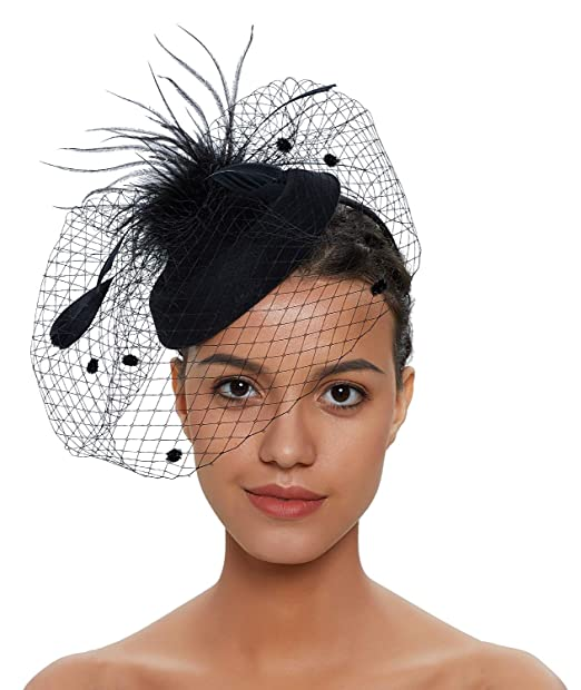 veil vintage hats