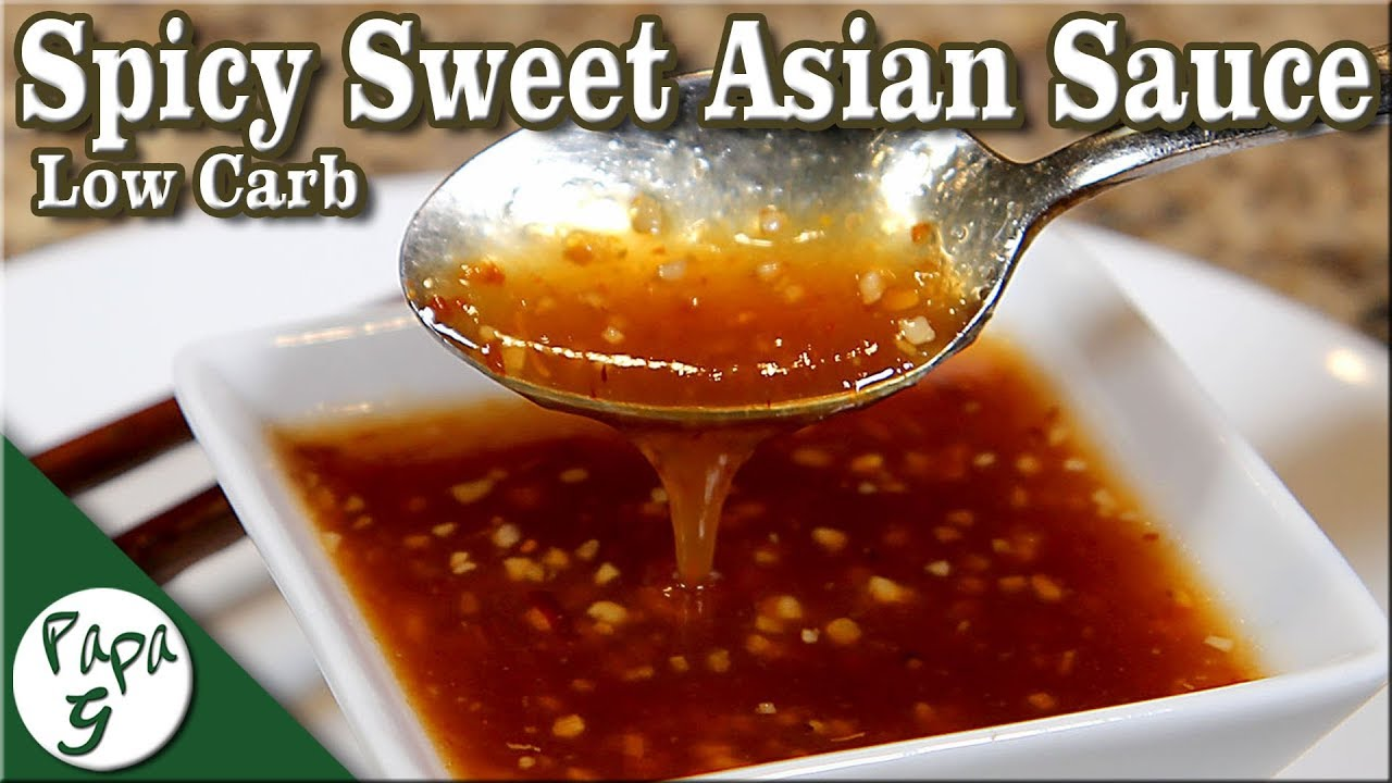 sweet sauces asian and spicy
