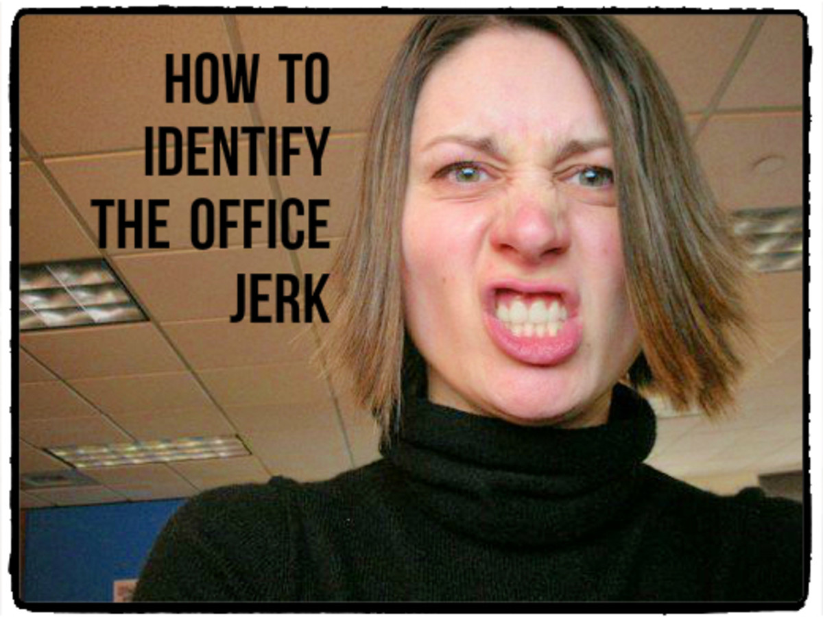 the jerk office you are