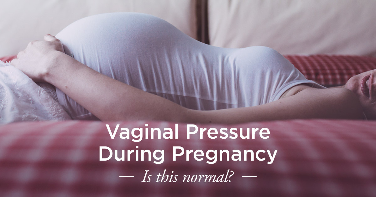 pain vagina pregnancy in