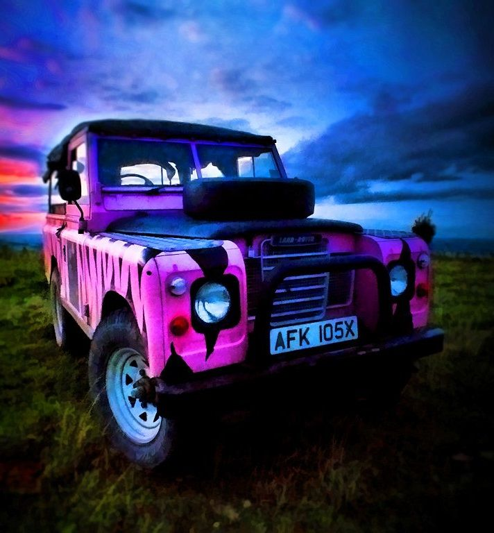 breast land rover flash