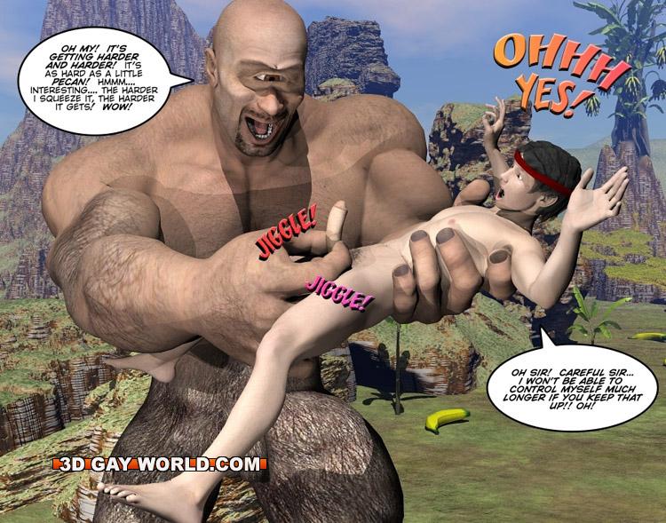 monster cartoon dick