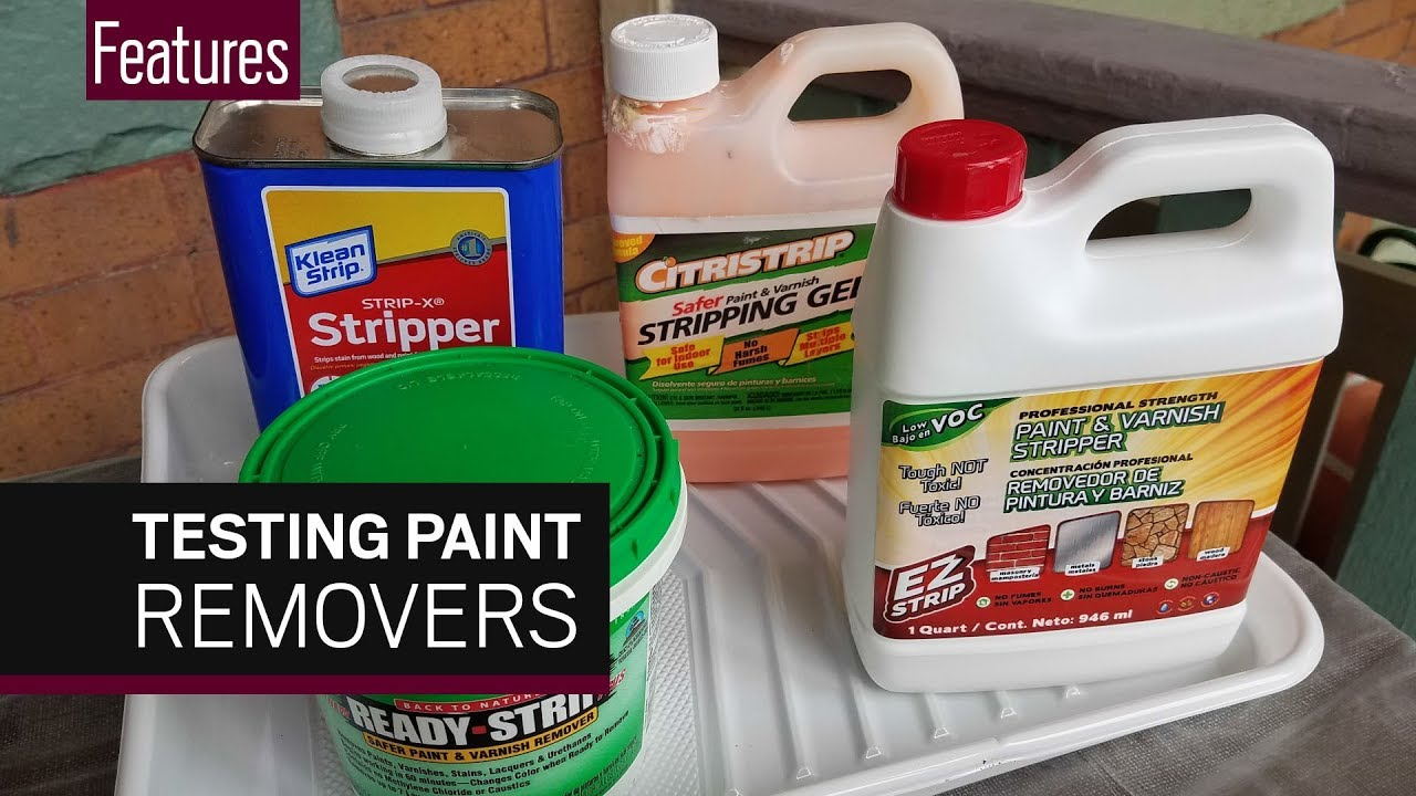 paint stripper chemical non hazardous