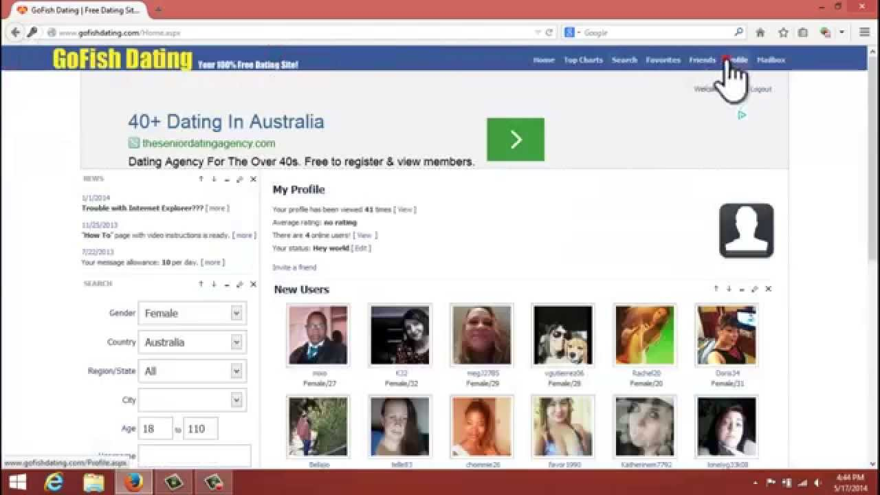 site free dating without payment in australia