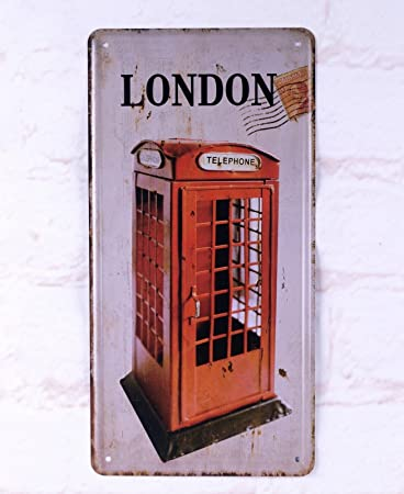 steel vintage telephone wall