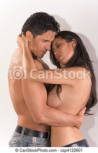 hugging nude couples