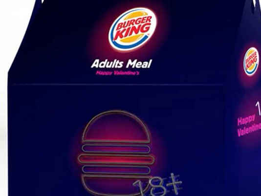 burger adult meal king