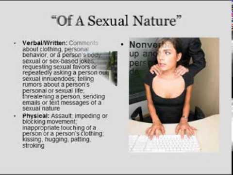 articles sexual harrasment