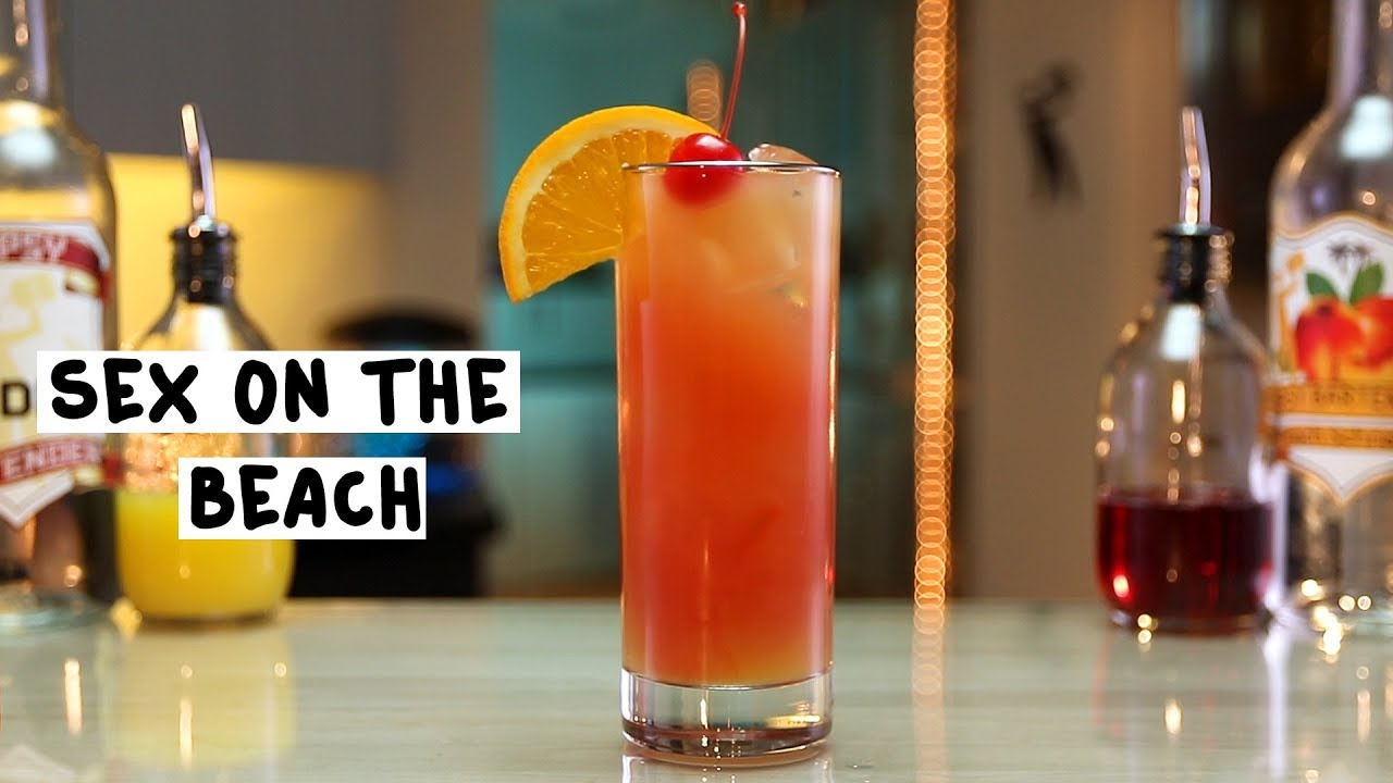 cocktail recipe the beach sex on classic
