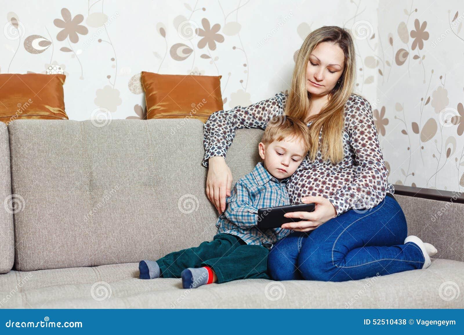 mom sitting on