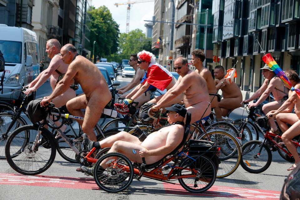 biking nudist mountain
