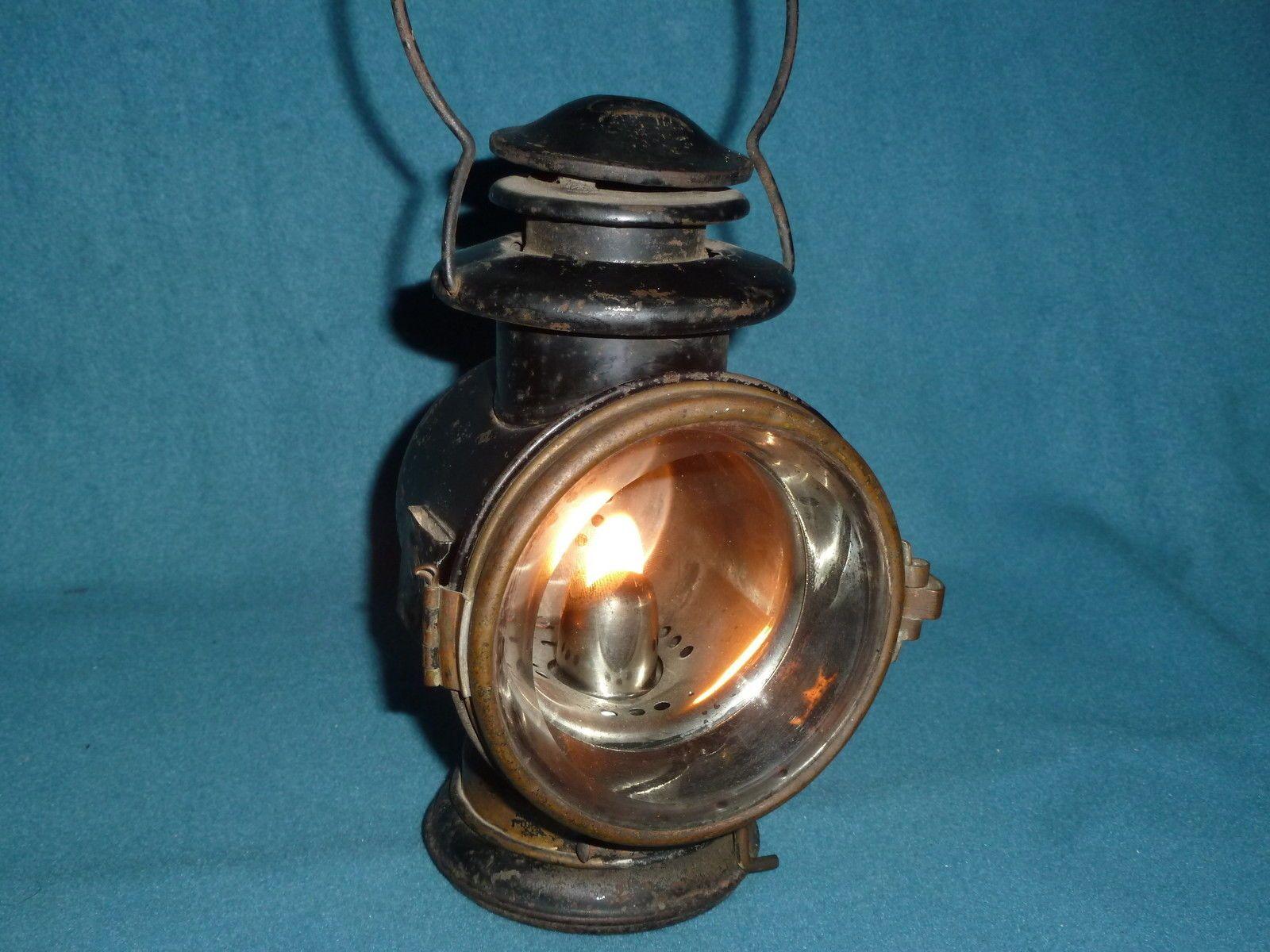 lanterns car vintage karosine