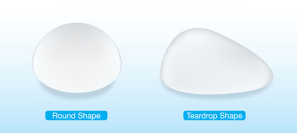 breast implant shapes