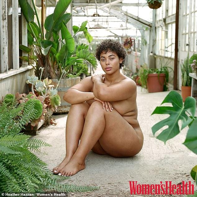 women naked sized plus