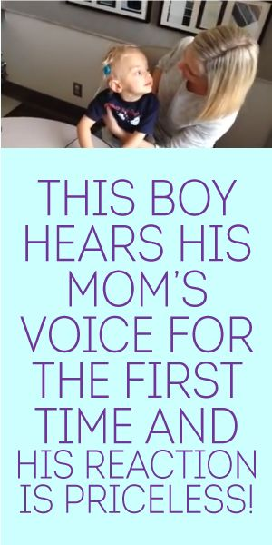 mom for hears first boy time