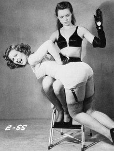 pictures fetish retro spanking