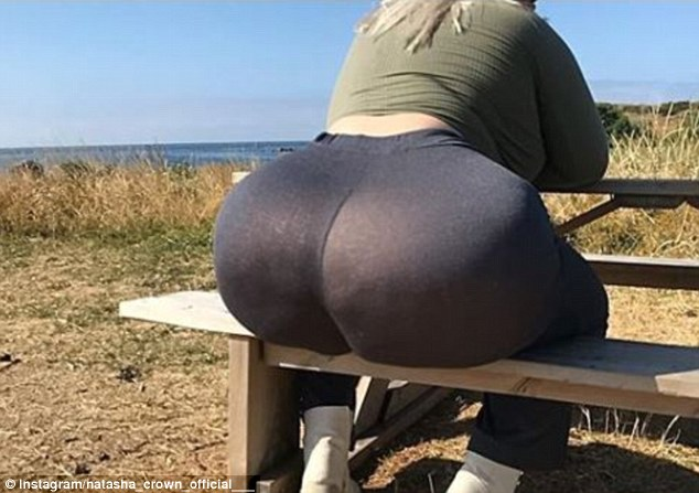 store at grocery bbw touching ass