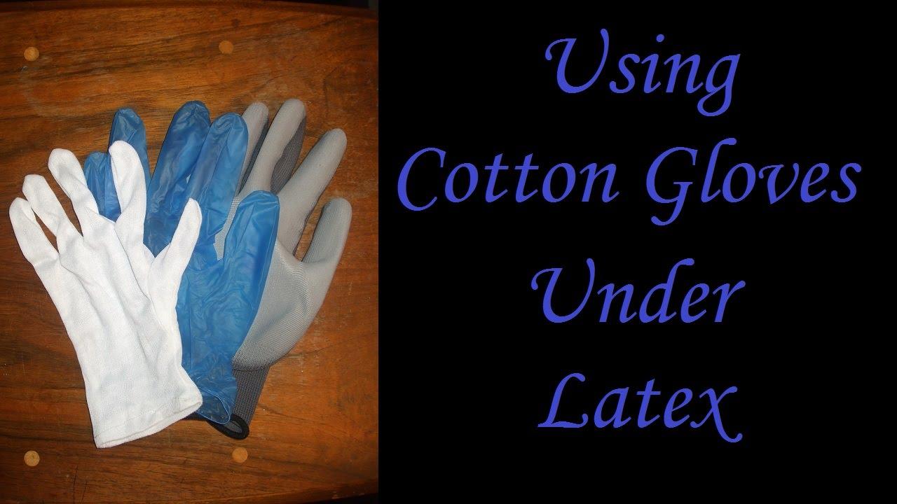 latex gloves using