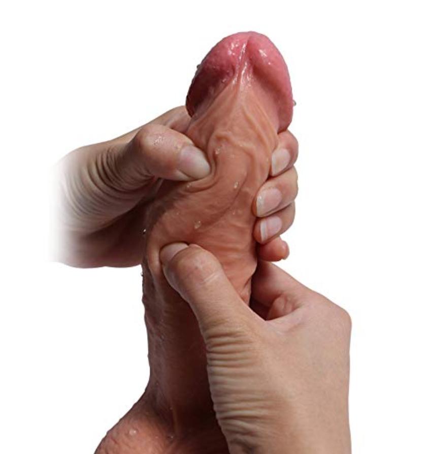 huge dildo tip