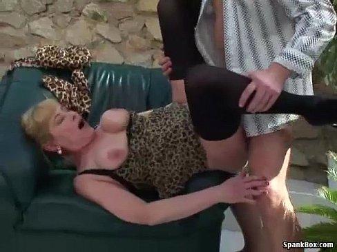 stuffed mature pussy
