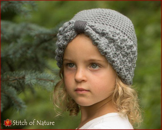 vintage pattern hat crochet