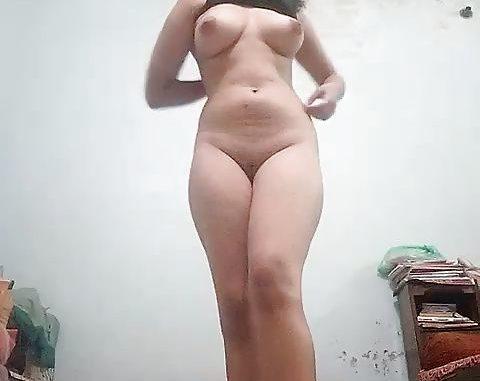 nude dancing girl