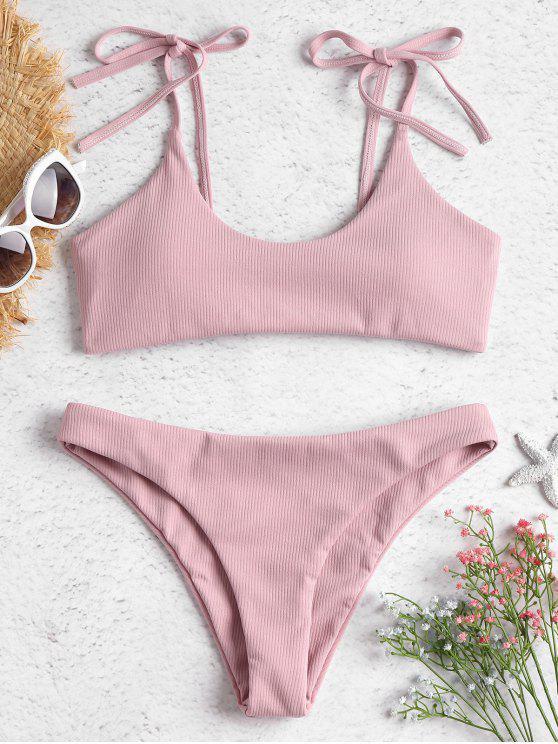 bikinis light pink