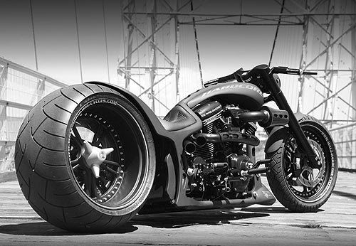 custom choppers hardcore
