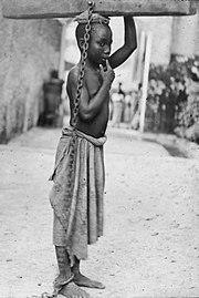 to black slave