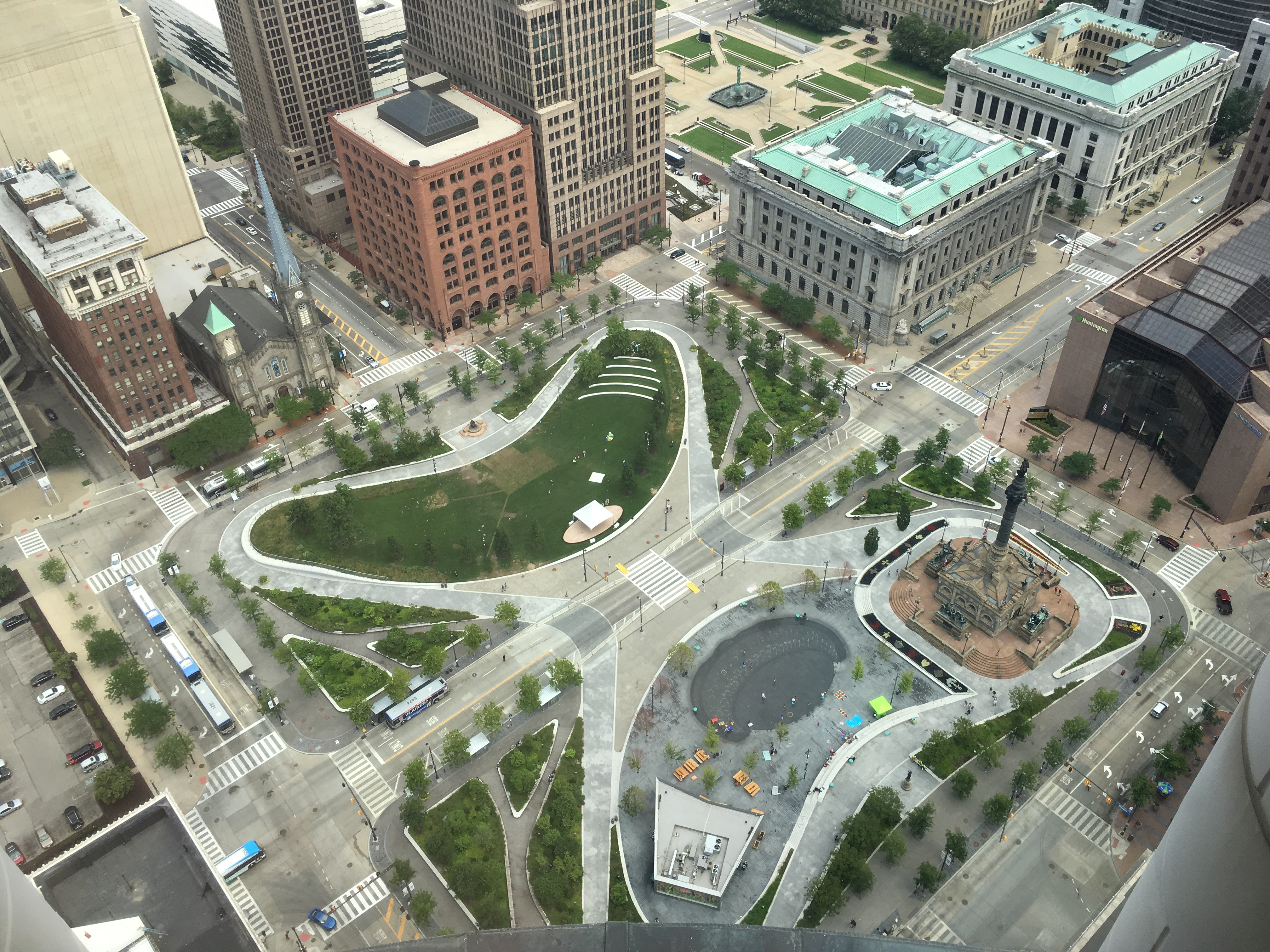 cleveland public and square