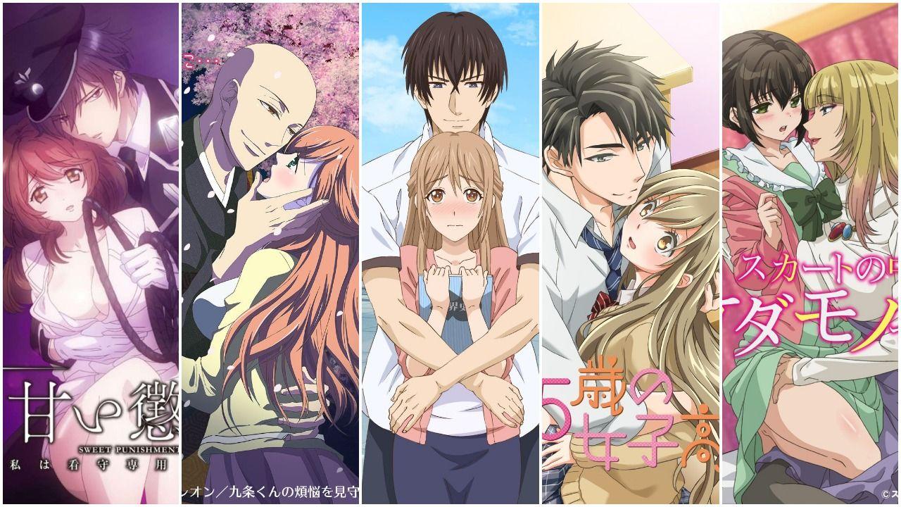 romance mature ecchi top manga