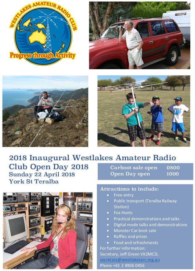 westlakes club amateur radio