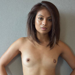 nude with hot flat girls chests