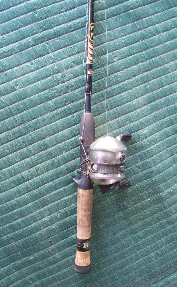 rod zebco and reel vintage