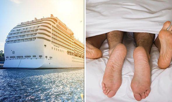 sex ship on cruise having