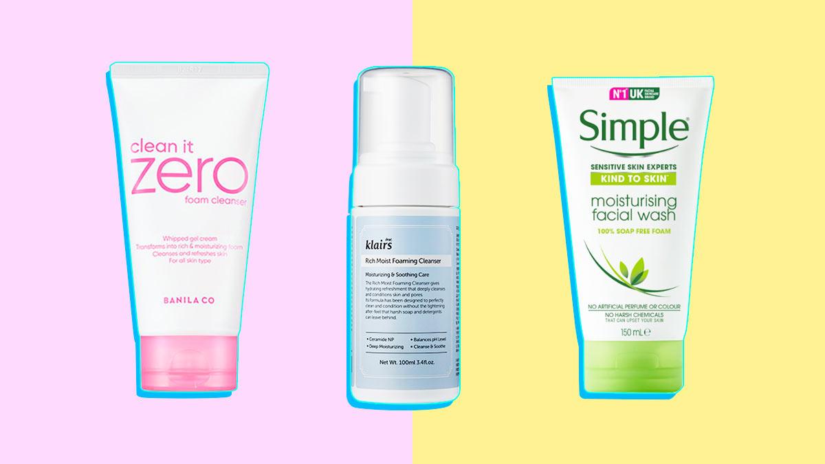 moisturising facial cleanser