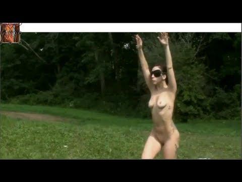 lady nude yoga gaga
