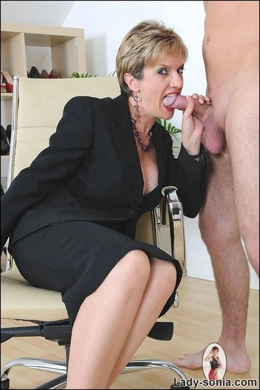 sucking cock secretary